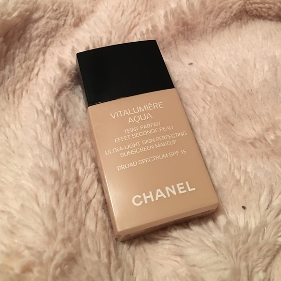 1290271ae CHANEL Makeup | Foundation With Matte Black Dust Bag | Poshmark