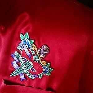 Intimo Other - Intimo Red silk pajamas