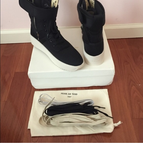2ae97fa3d8c6 Fear of God Other - Fear of God FOG Military Sneaker Boot