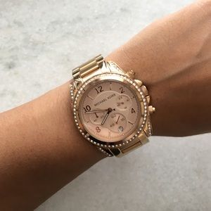 Michael Kors Accessories - Michael Kors rose gold watch