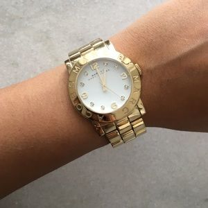 Marc by Marc Jacobs Accessories - Marc Jacobs gold watch