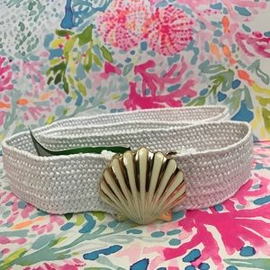 NEW Lilly Pulitzer resort Shell Yeah Callie Belt