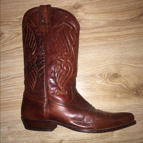 8410b8afcf2 Original leather sancho cowboy boots