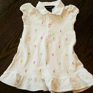 Ralph Lauren Other - Ralph Lauren girls polo dress size 18 months