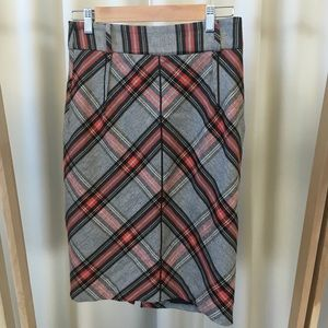 Zara Dresses & Skirts - Zara plaid pencil skirt