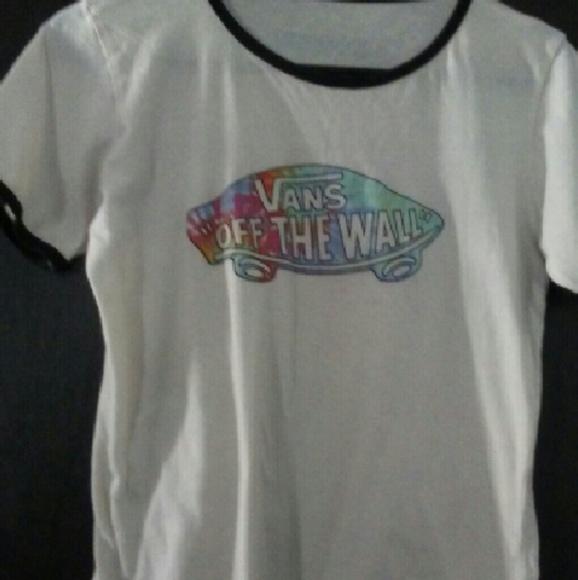 0aaf405793 Vans Tops - Girls vans tshirt