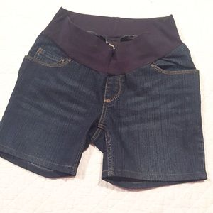 Motherhood Maternity Pants - Denim maternity shorts. Sz small