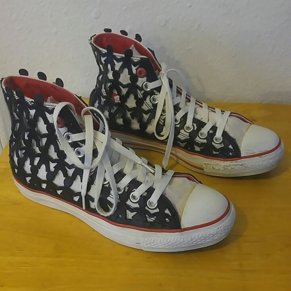 81960ef5ce16 Converse Shoes - Converse 1HUND(RED) Ltd. Ed. Women s 8.5 Men s 6.5