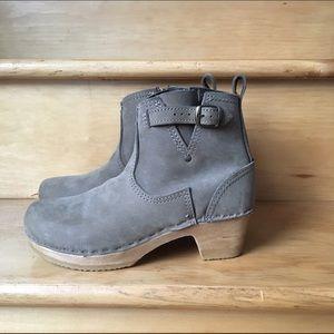 no. 6 Shoes - No. 6 buckle boot mid heel sz 38
