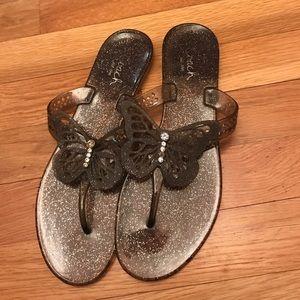 Coach Jelly Flip Flops