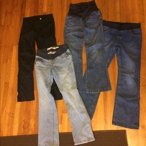 Bundle maternity jeans