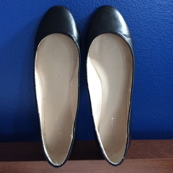 Black Leather New Toe Cleavage