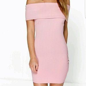 Boohoo Petite Dresses & Skirts - Petite Melanie bardot bodycon dress