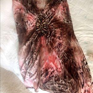 Venus Tops - Pink Multi Snake Print Top 👚🐍
