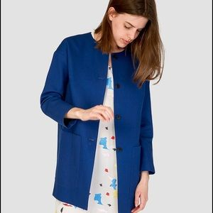 Steven Alan Jackets & Blazers - Stevan Alan Jacket Coat Collarless Small