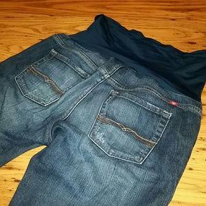 Lucky Brand Denim - Lucky Brand XS Boot cut  Maternity Jeans
