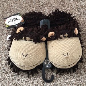 Aroma Home Shoes - Monkey Slippers