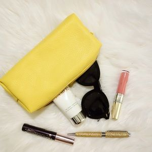 Neiman Marcus Handbags - Neiman Marcus Pebble Pencil Case, Yellow