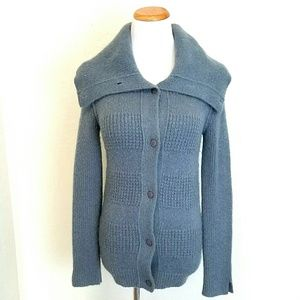 TSE Sweaters - Tsesay Wool Blend Button up Cardigan