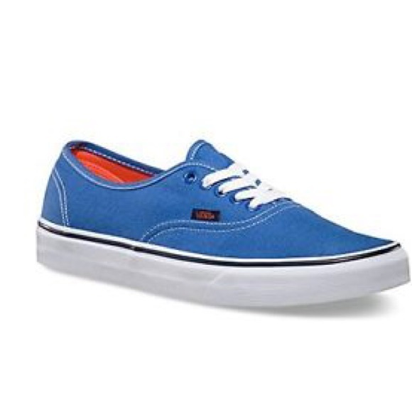 fb0bda87c4 Vans Authentic Pop strong blue  Nasturtiums