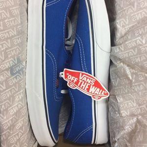 fb03170a67 Vans Shoes - Vans Authentic Pop strong blue  Nasturtiums
