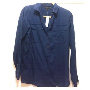 J.Crew Button Down Chambray Shirt.