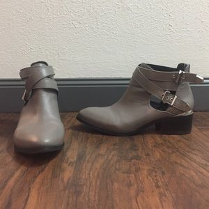 Shoemint Shoes - Gray Booties By Shoemint
