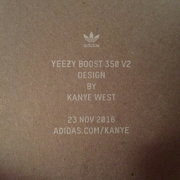 Adidas Yeezy Boost 350 v2 Design By Kanye West BY 1605 $ 79.99