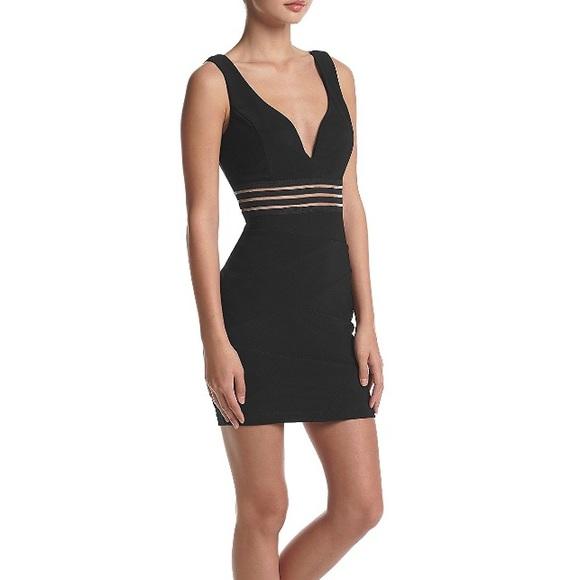 44f800f8e Emerald Sundae Dresses | Black Dress Bodycon Padded Bra | Poshmark