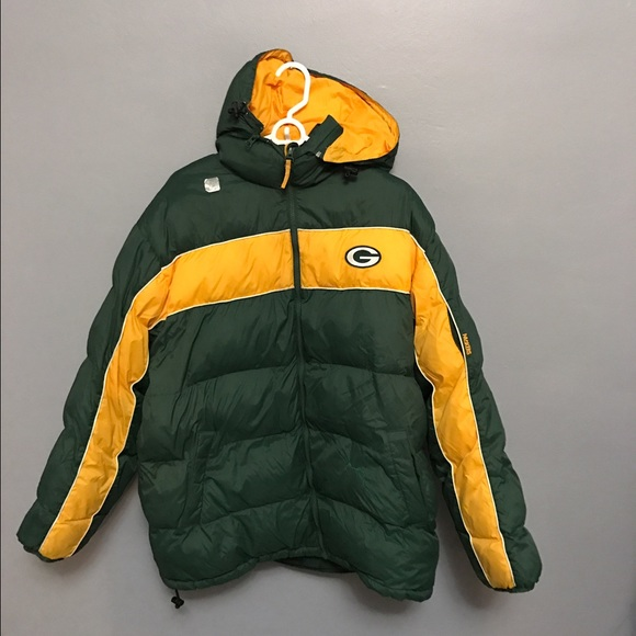 cheap for discount 1e92f a7b05 Green Bay packers puffer down jacket NFL