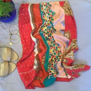 Laundry By Shelli Segal Silk Skirt