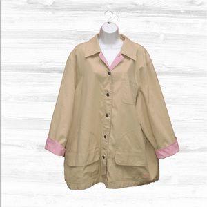 Lauren Ralph Lauren Jackets & Blazers - Lauren Ralph Lauren Plus-Size Barn Jacket