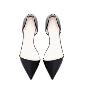 "Zara Shoes - Zara ""Vamp"" Pointed Flats"