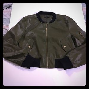 Fate. Jackets & Blazers - Fate Faux Leather Bomber Jacket