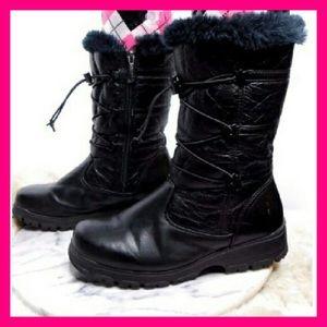 Khombu Shoes - Khombu waterproof winter boots black AW-9823 sz 10