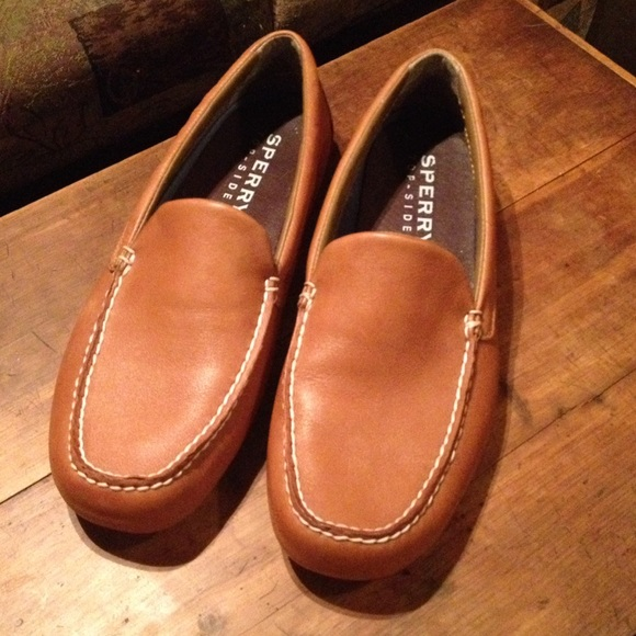 Sperry Pilot Slip On Leather Loafers