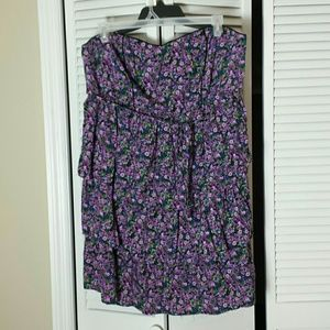 Plus Size 4X Pure Energy Ruffle Tiered Dress