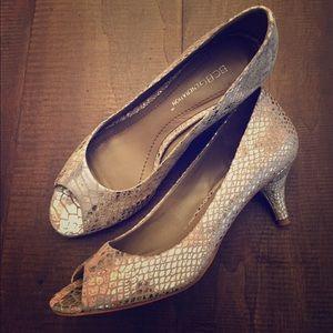 Women's BCBGeneration Python Heels Size 5.5 M