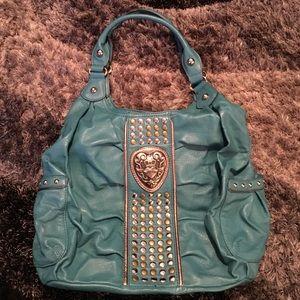 Kathy Van Zeeland Handbags - 🌼 SALE 🌼 oversized studded Kathy Van Zeeland bag