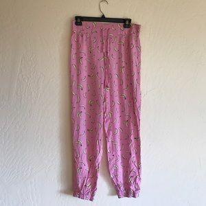 Wildfox Pants - Banana pajama pants