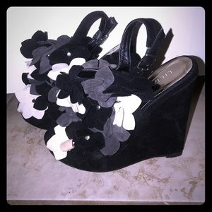 Liliana Shoes - Liliana Suede Wedges