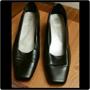 Highlights Shoes - Womens Black Pumps  Highlights Size 8W