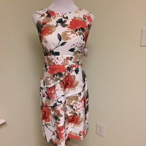 Connected Apparel Dresses & Skirts - ‼️SALE‼️ FIRM! NWT Floral, Tiered Dress