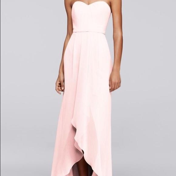 David\'s Bridal Dresses | Davids Bridal Highlow Bridesmaid Dress ...