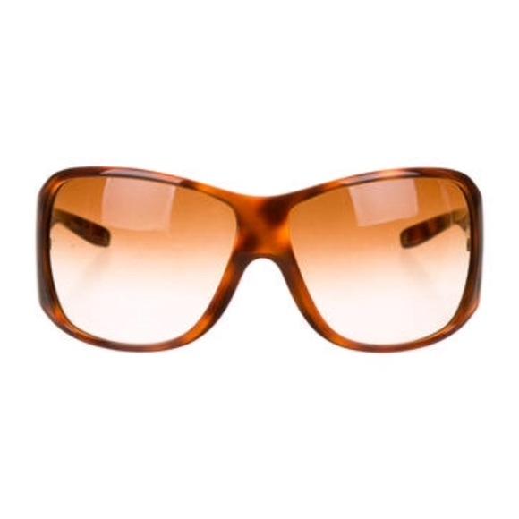 5523c654947e Versace tortoise shell oversize sunglasses w case.  M 5882c0bcfbf6f990c7027ca1. Other Accessories ...