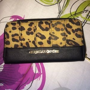 Christian Siriano Handbags - Cheetah print wallet