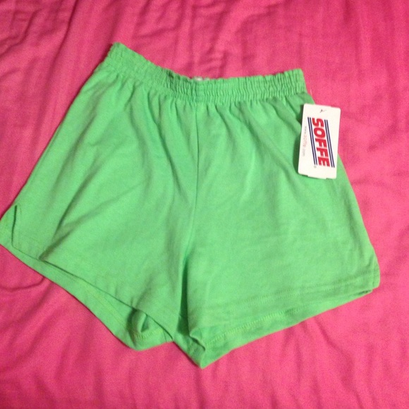 ba7a6525f7a NEW WITH TAG! Kelly Green Soffe Cotton Shorts