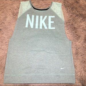 Nike Dri-Fit Training Sweatshirt Tank Top