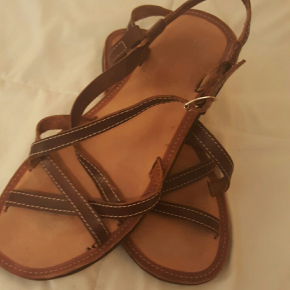 Shoes - 3 for $12 Brown sandals, size 7.
