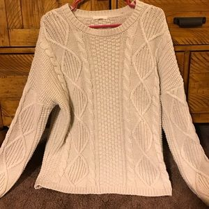 Tulle Sweaters - Tulle brand cable knit sweater